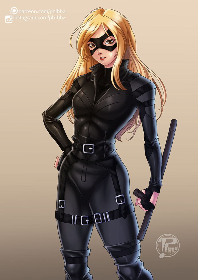 Black Canary by voltesfibz