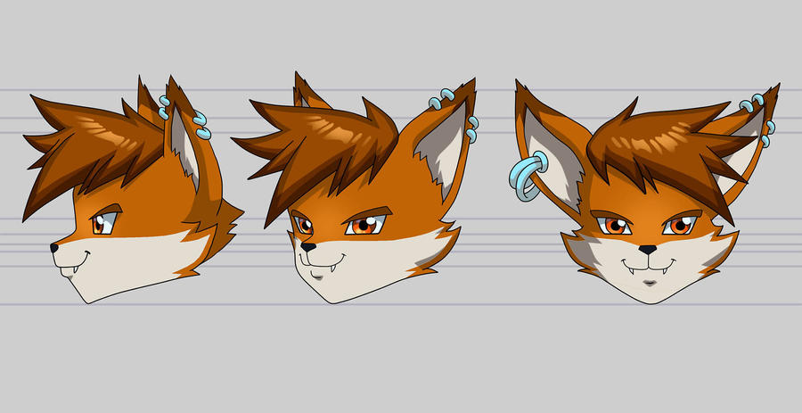 Mcfoxx Headturn Color by voltesfibz