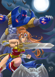 Wonderbat Artemis and Azrael