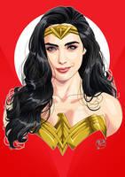 Wonder Gal portrait