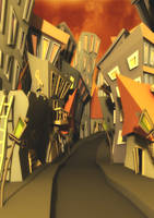 Expressionist City by slipled