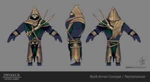 Necromancer Armor Concept by slipled