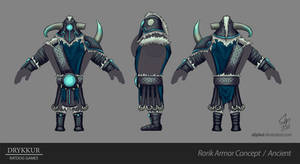 Ancient Armor Concept by slipled