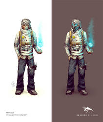 Winter Character Concept
