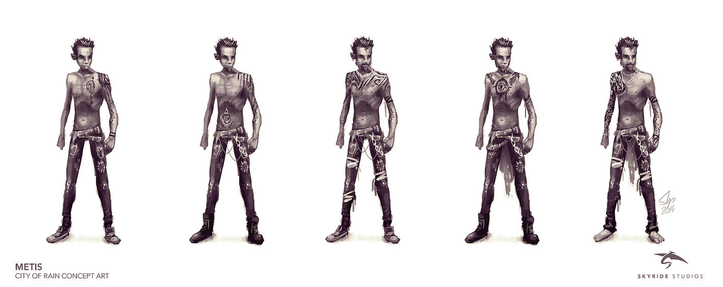 Metis Character Concept Sketches by slipled