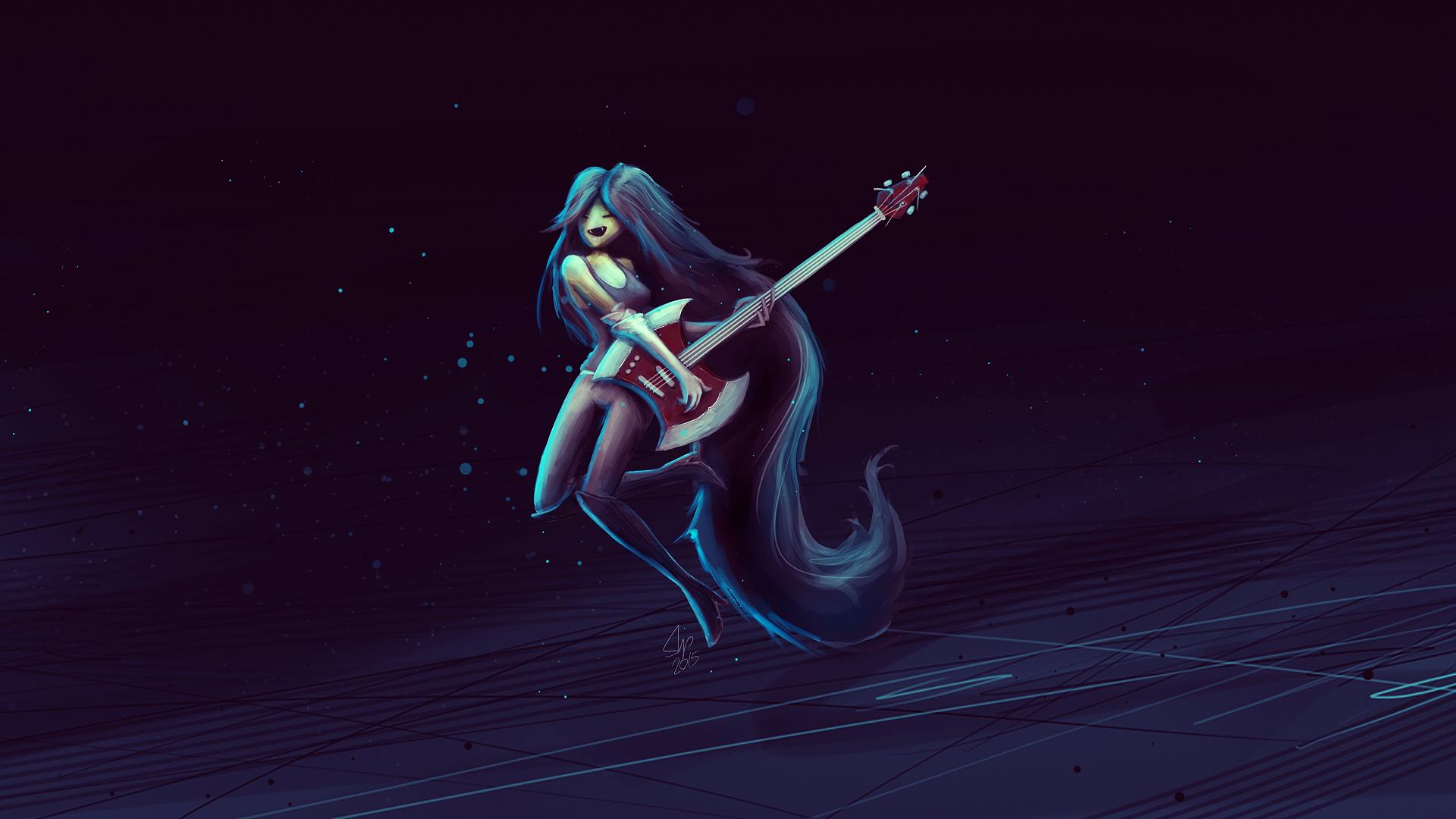 Marceline the Vampire by slipled