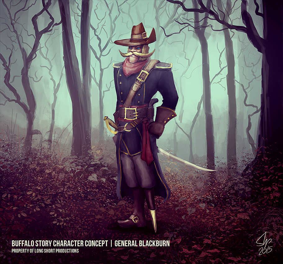 General Blackburn by slipled