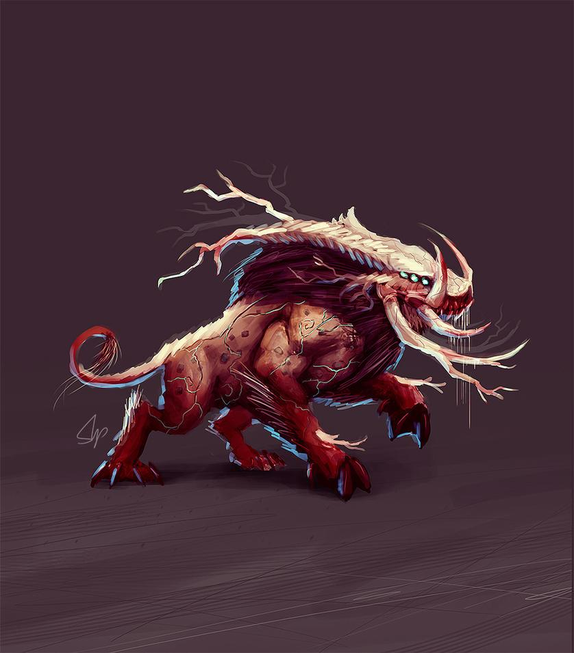 Kreesh Demon Boar by slipled