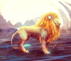 The Great Lion by slipled