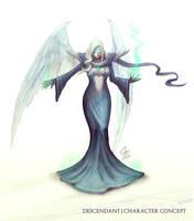 Female Descendant by slipled