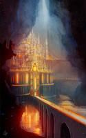 Mesadrin - The Underground City by slipled