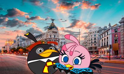 Stella y Bomb en la ciudad de mexico (angry birds) by fanvideogames