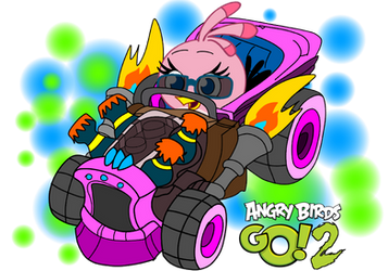 Angry birds go 2 Hot rod Stella by fanvideogames