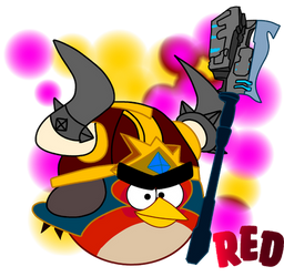 angry birds epic Red avenger of elite