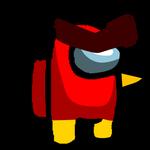Among us Red (Angry birds)