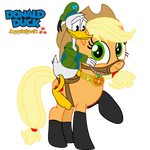 Donald Duck And Applejack by fanvideogames