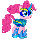 Pinkie pie (elite valkyrie) # vector by fanvideogames