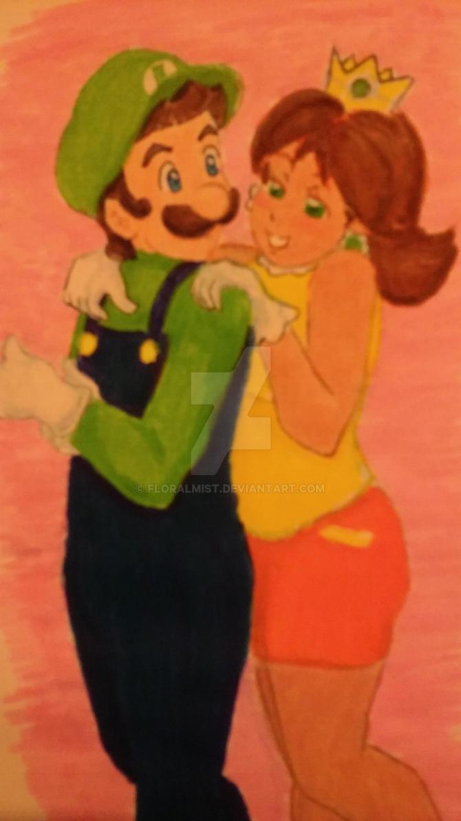 Luigi and Daisy by Floralmist