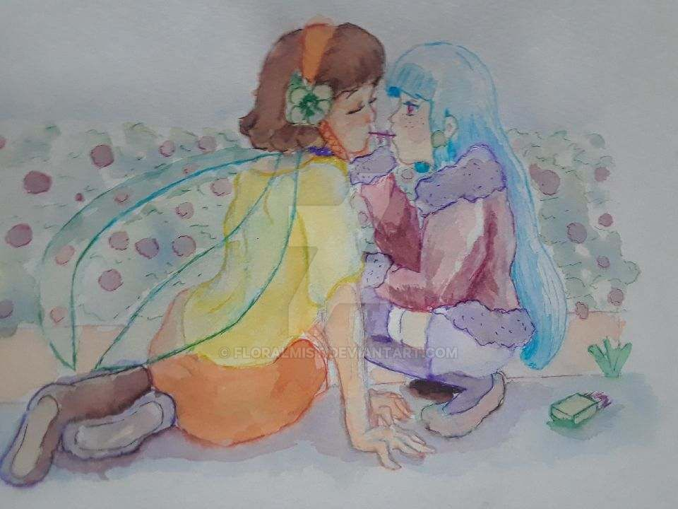 Leia And Agria by Floralmist