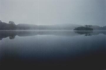 Foggy Lake by Zukira-Phaera