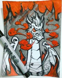 Inktober day 1 by alp-d