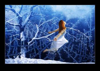winter's kiss by vcrimson