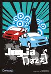 t-shirt design of Jogja Jazz Car Club