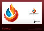 3d Logo Fire