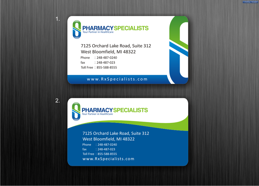 Business Cards to Pharmacy Company by dewaaaa on DeviantArt