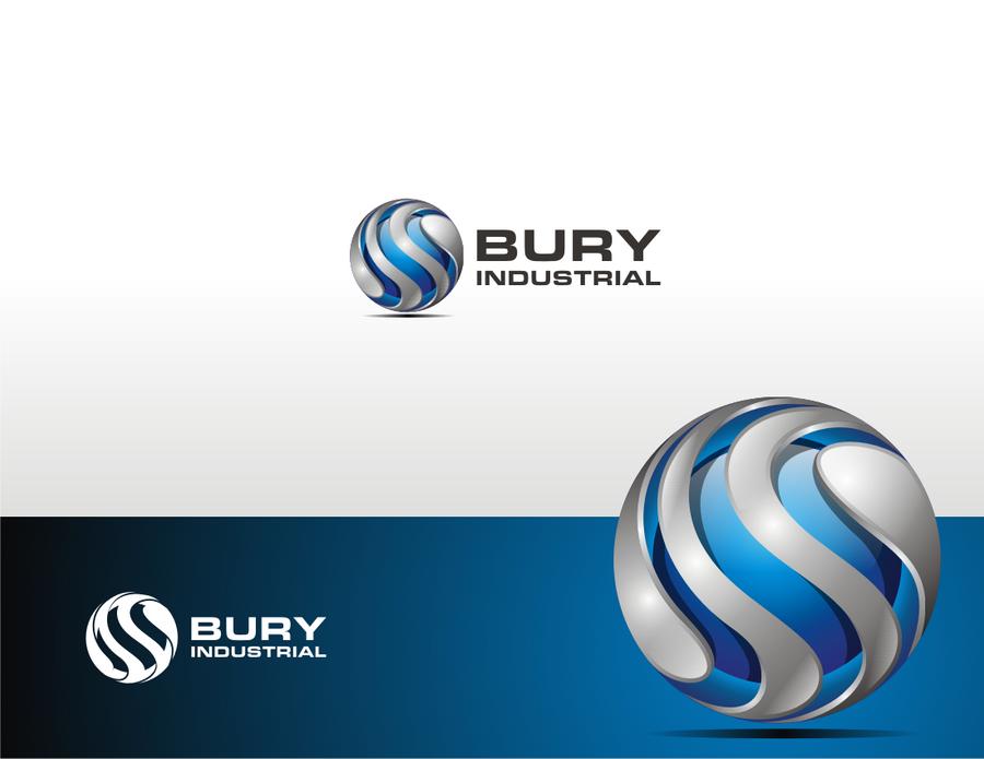 3d Logo of Bury Industrial