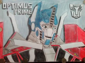 Optimus Prime (my version) by CaptainPatriot0