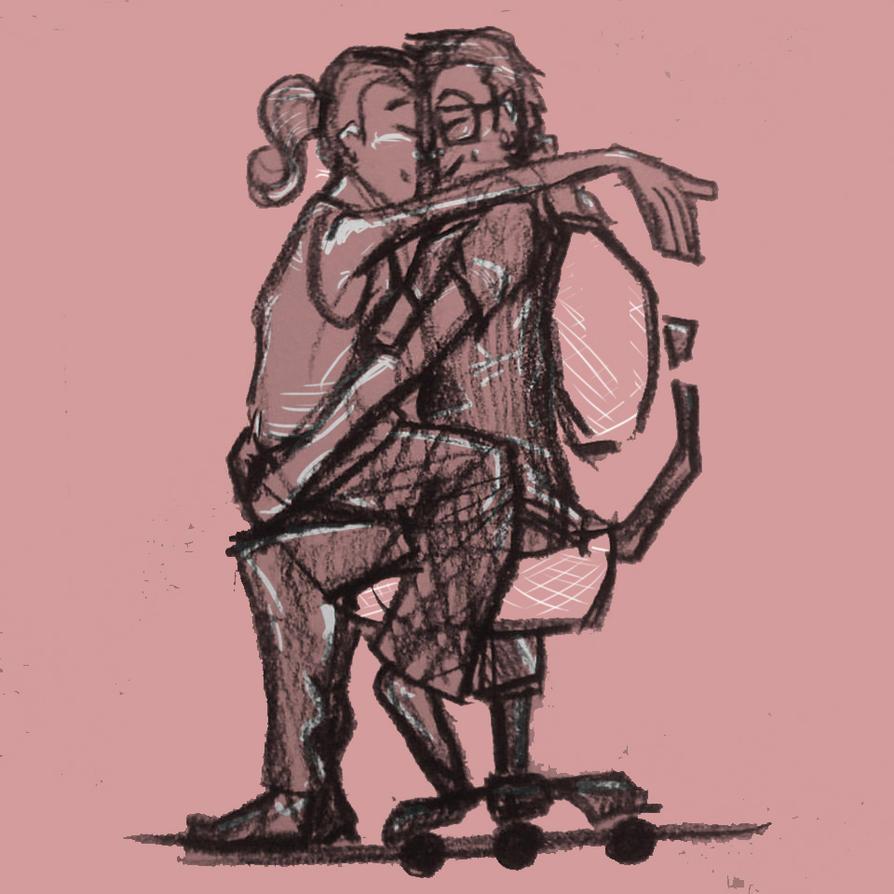 Chair Hug! by Gorfuru