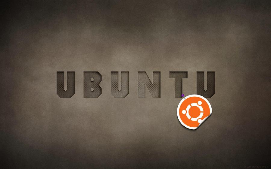 old school typo_ubuntu by alkore31
