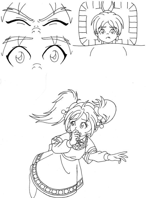 Breath of Fire II - Manga Test