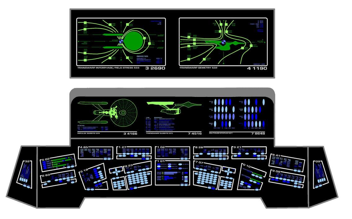 Engineering console by keiichi k1 on deviantart - Star trek online console ...
