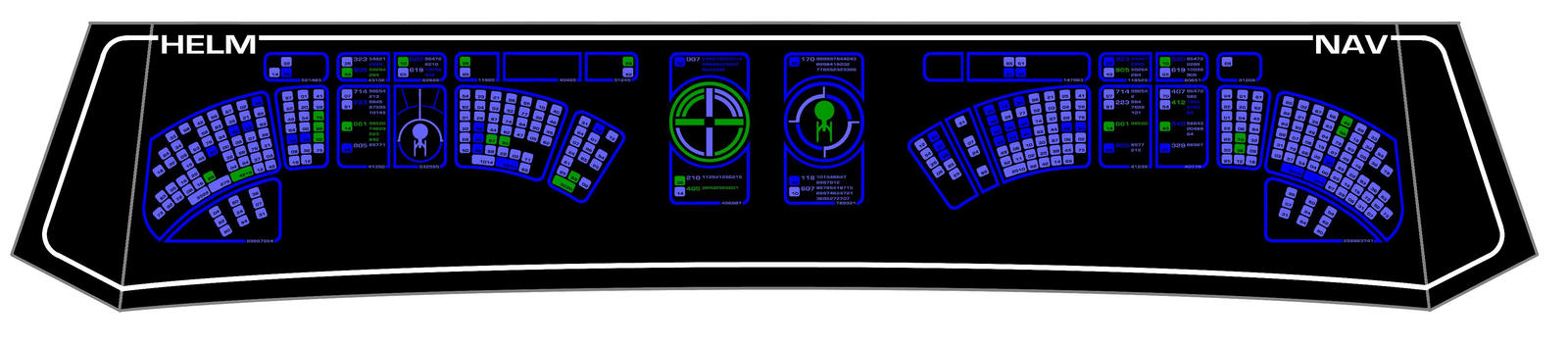 Helm nav console 1701 a by keiichi k1 on deviantart - Star trek online console ...