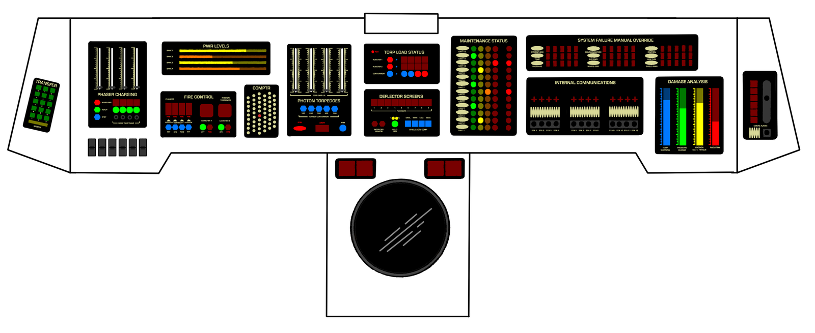 Weapons and d r console tmp by keiichi k1 on deviantart - Star trek online console ...