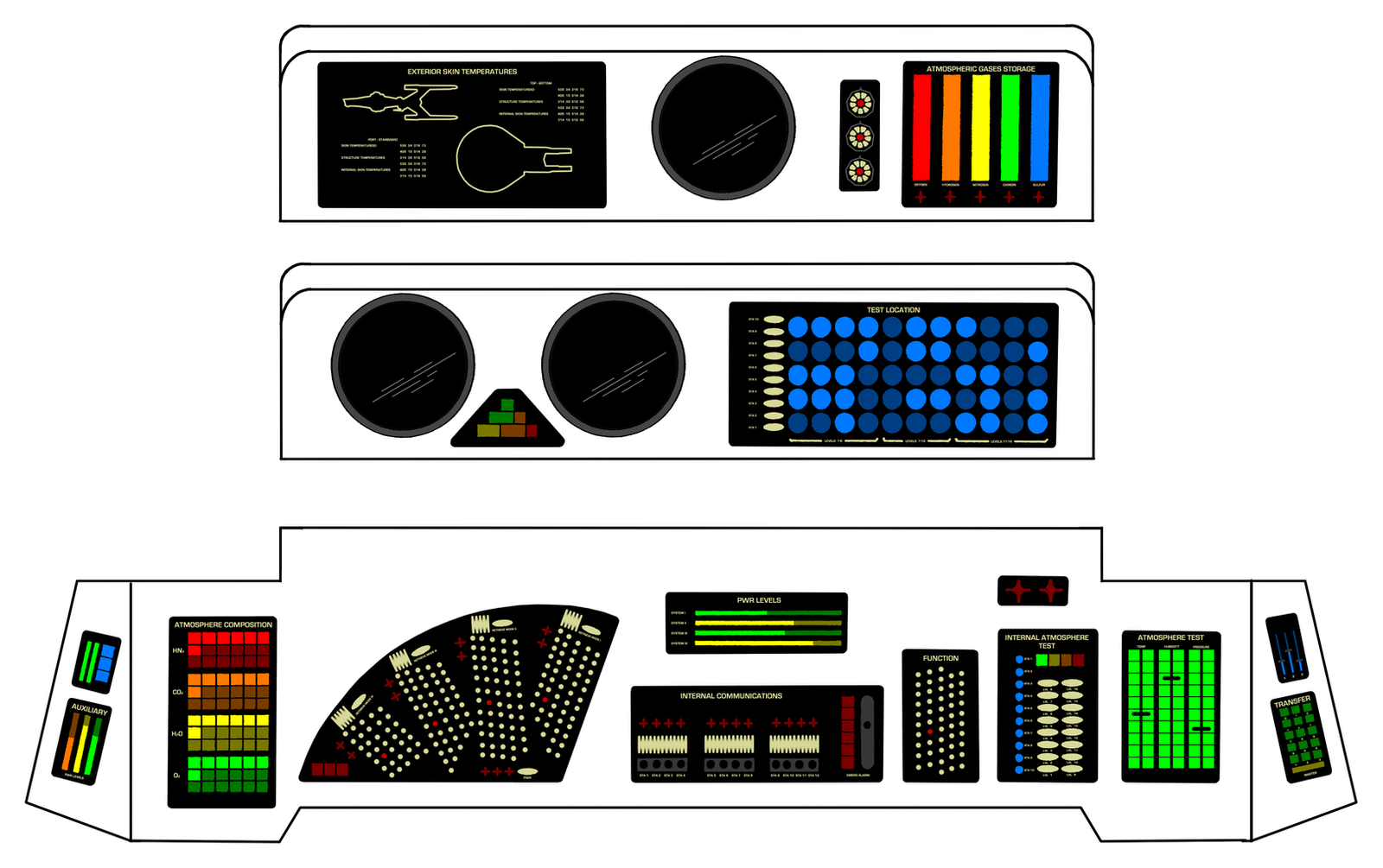 Operations console tmp ver by keiichi k1 on deviantart - Star trek online console ...