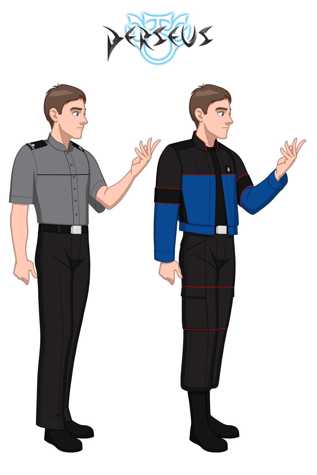 PERSEUS - Wardrobe Test - Cameron