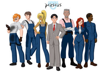 PERSEUS - Mining Crew Concept