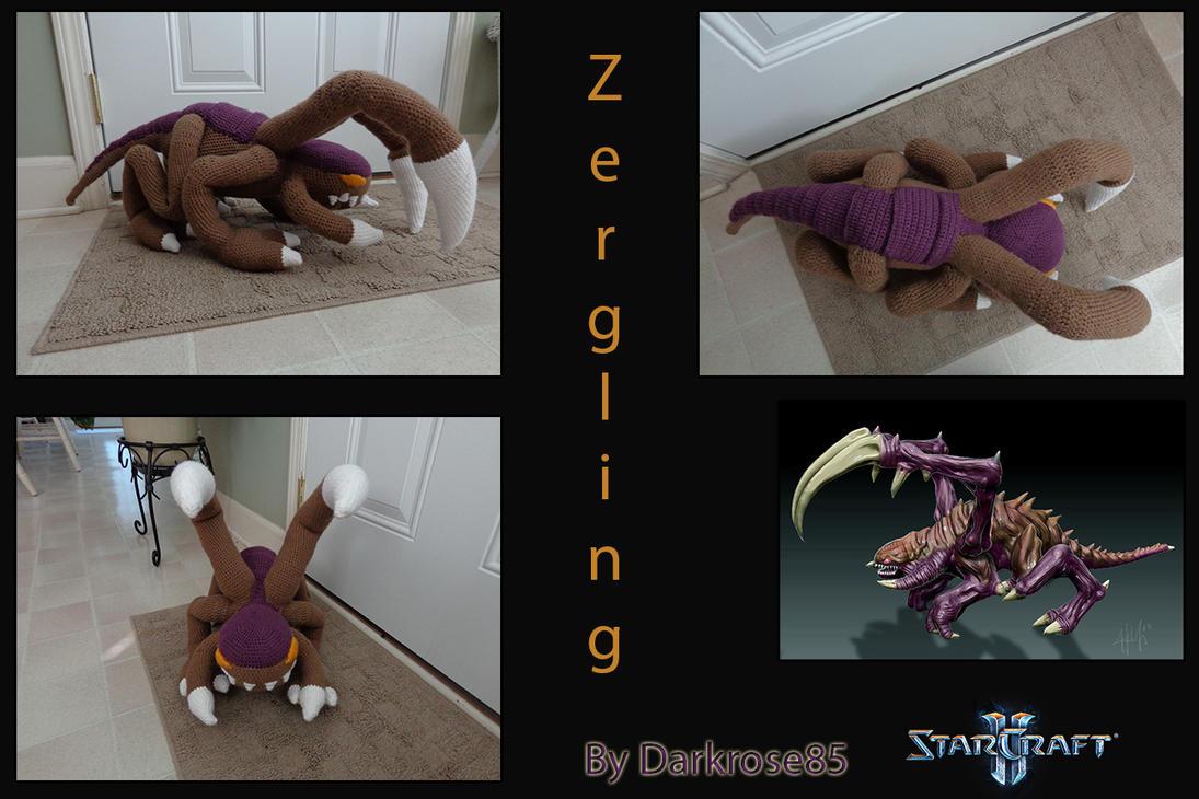Zergling by PlushAndStuff