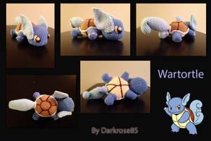 Wartortle by PlushAndStuff