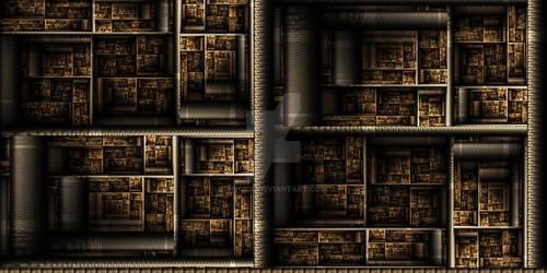 Escher's Bookshelf