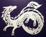 Papercutting: Dragon