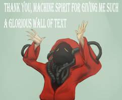 Very stupid Tech Priest Meme