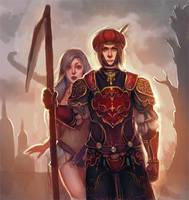 Red Knight by Salacia-of-Vanadiel