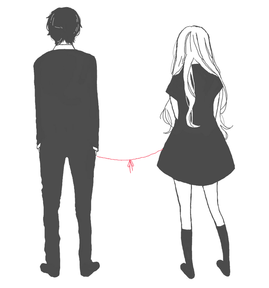 Red String by SilentBunnny