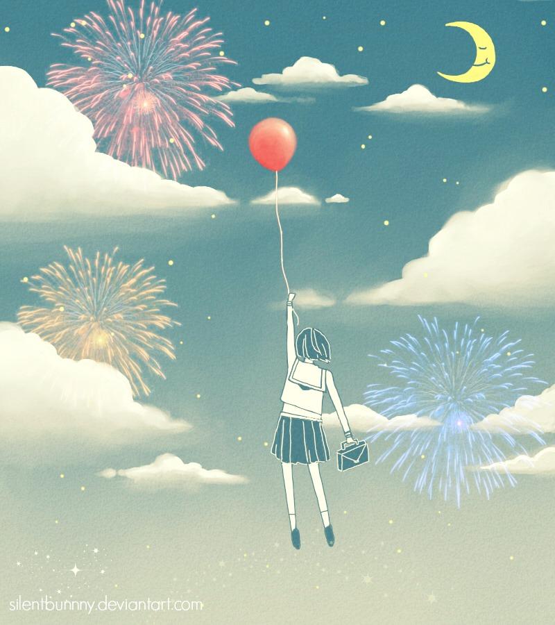 Fireworks by SilentBunnny