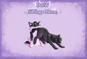 Siblings Meme: Taras and Leto [COLLAB] by Weasele