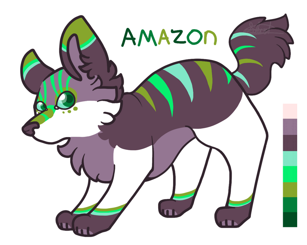 Amazon - Adoptable for Points [CLOSED] by TheSilverShadowK9